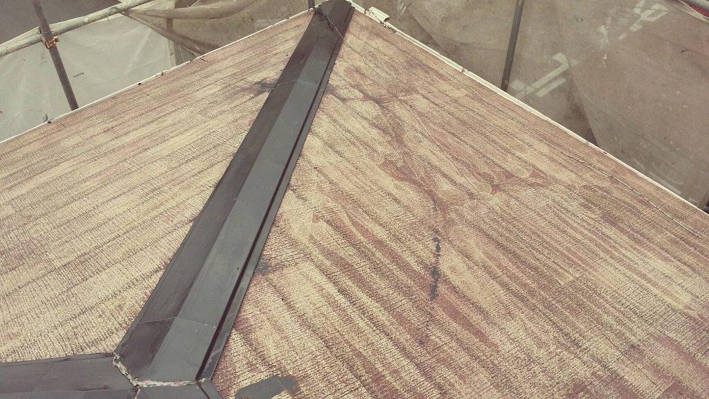 コロニアル屋根の塗装前